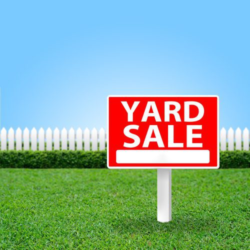 Share Yard Sale Guidelines with Your Renters