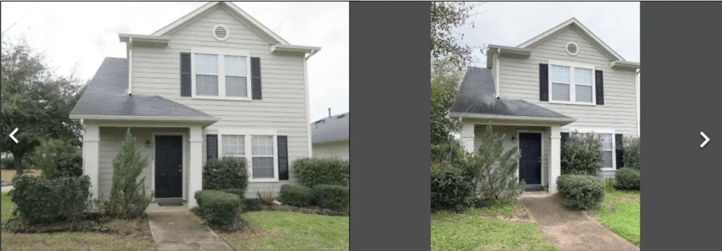 Always film your virtual property video in landscape orientation, or horizontally.