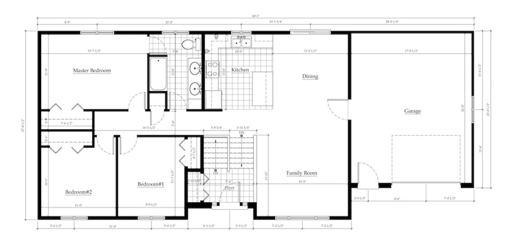 Floor plans are a great way to envision yourself living in a property and moving throughout each room when trying to find a rental home while social distancing.